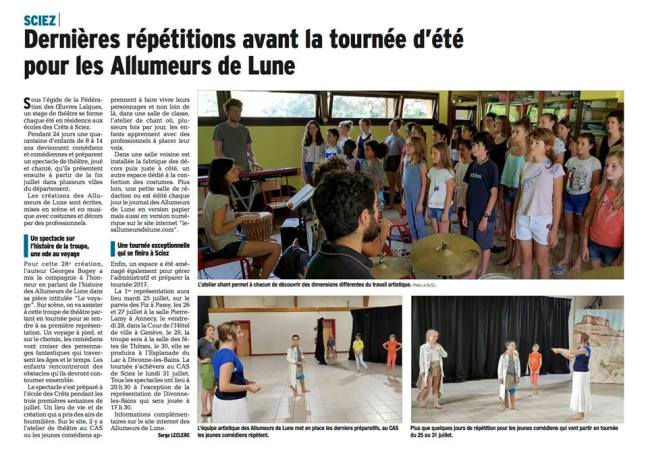 Dauphine Allumeurs Juillet 2017